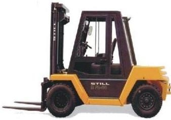 Still Diesel Fork Truck Type R70-60, R70-70, R70-80: R7090, R7091, R7092 Parts Manual