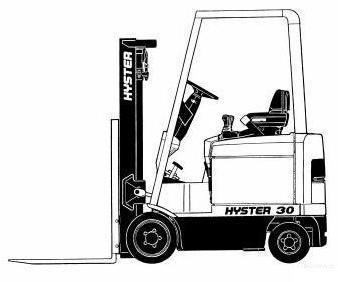 Hyster Forklift Truck D114 Series: E25XM2, E30XM2, E35XM2, E40XM2S SND114V03842 Parts Manual