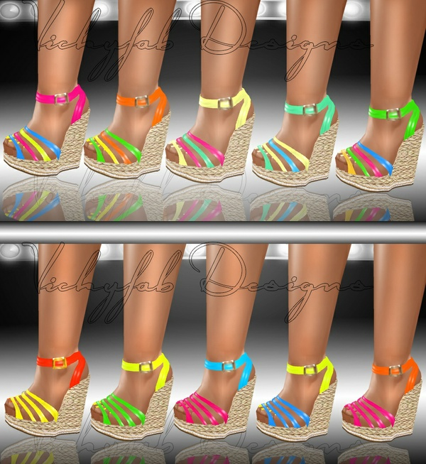 Katia Any Shape Boots Texture Bundle2 20 textures ( PNG & PSD)