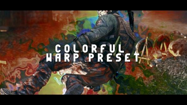 Colourful Warp Preset (.ffx)