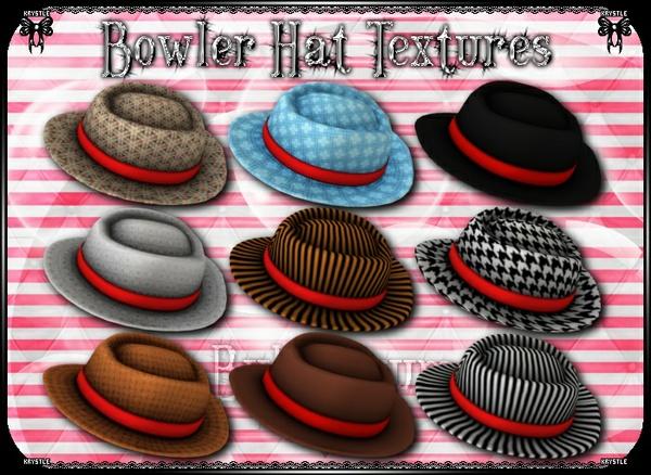 Bowler Hat Texture Freebie!!