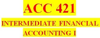 ACC 421 Week 5 Textbook Problems