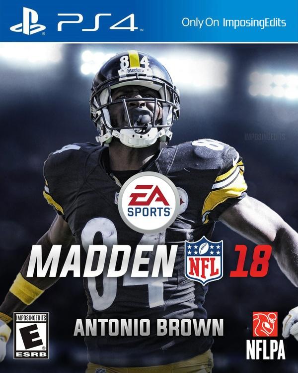 Madden 18 Custom Cover (PSD)