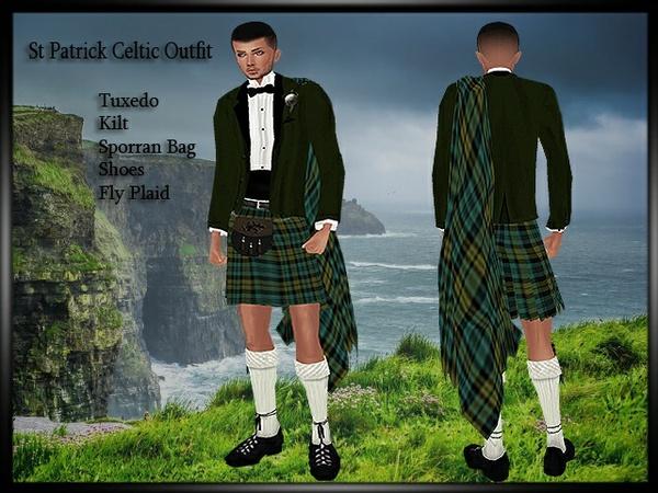 St Patrick Celtic Outfit