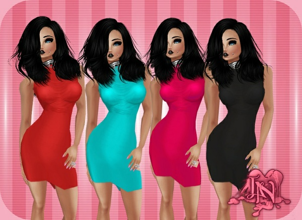 Sleeveless Dress Pack (4 Colors)