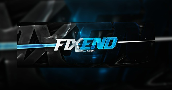 Fixend Header PSD