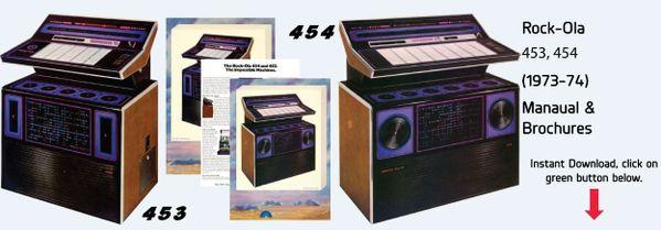 Rock-Ola 453, 454 (1973-74)