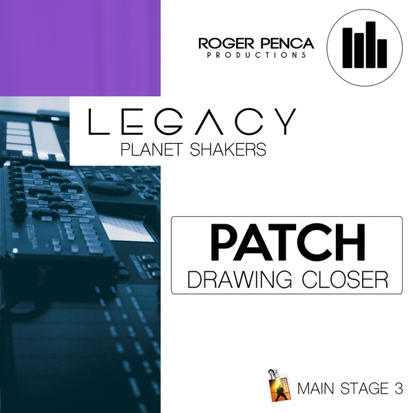 PATCH DRAWING CLOSER | LEGACY Planet Shakers ( Main Stage 3 Version )
