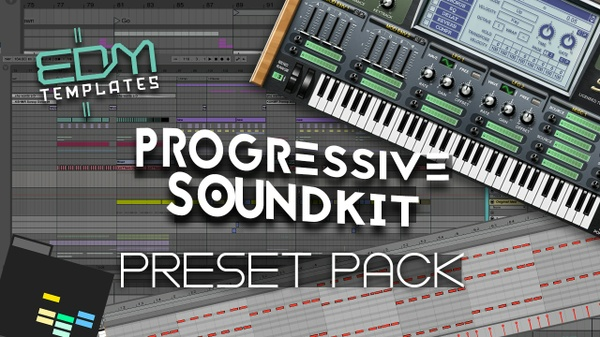 Progressive Soundkit - Sylenth1 Presets Templates Vst Racks Midi & Samples