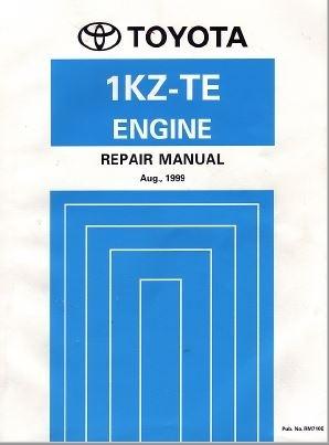 Toyota 1KZ-TE Engine Repair Manual (RM710E)