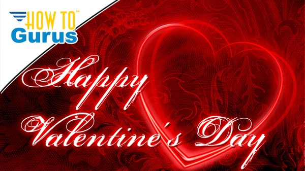 Photoshop Elements Happy Valentine's Day 2018 Romantic Greeting Card Project 2018 15 14 13 Tutorial