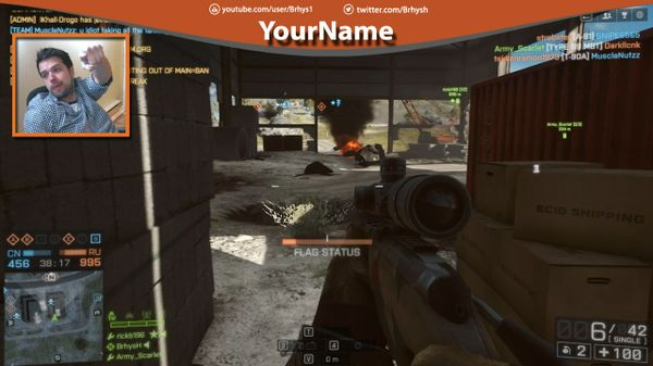 how to get custom stream overlay shadowplay