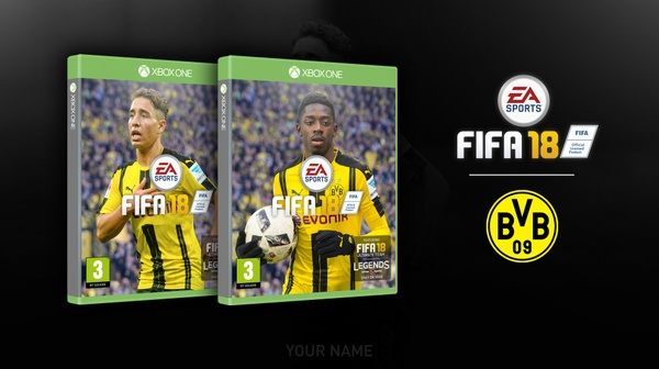 FIFA 18 COVER FULL EDITABLE