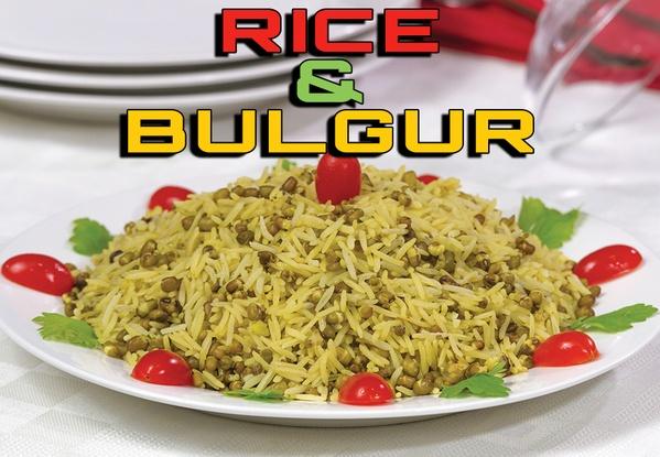 Rice & Bulgur Chapter فصل الأرز والبرغل