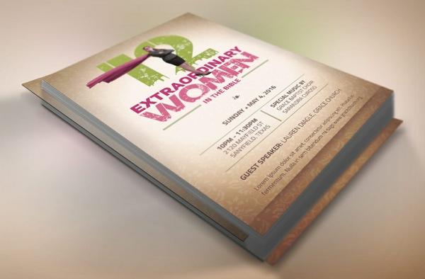 Bible Women Flyer Template