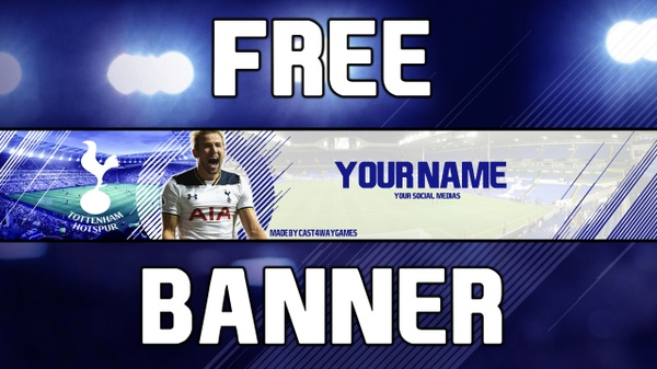 Free FIFA 18 Banner Spurs theme
