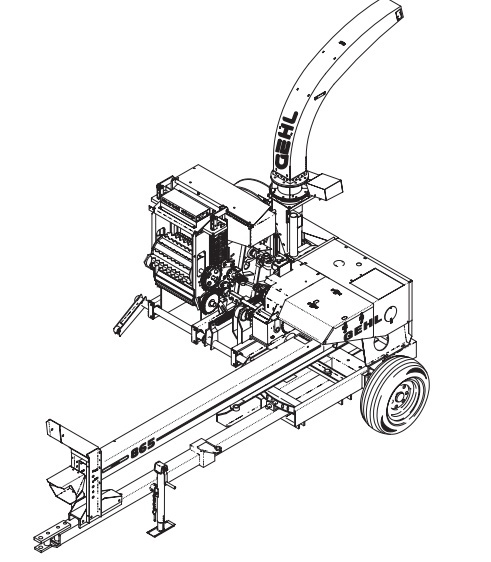 GEHL 860/865 Forage Harvesters Parts Manual