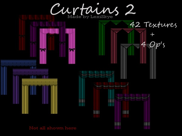 Curtains 2 (4Styles)
