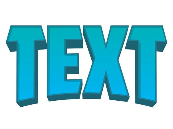 Custom 2D Text
