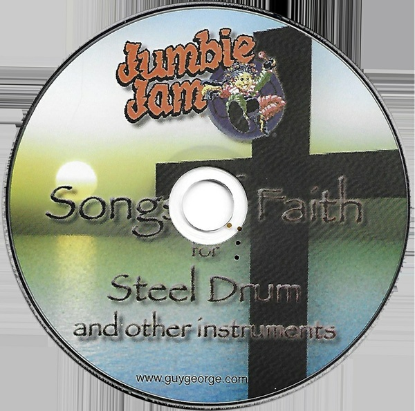 Jumbie Jam Series Songs Of Faith for Steel Drum