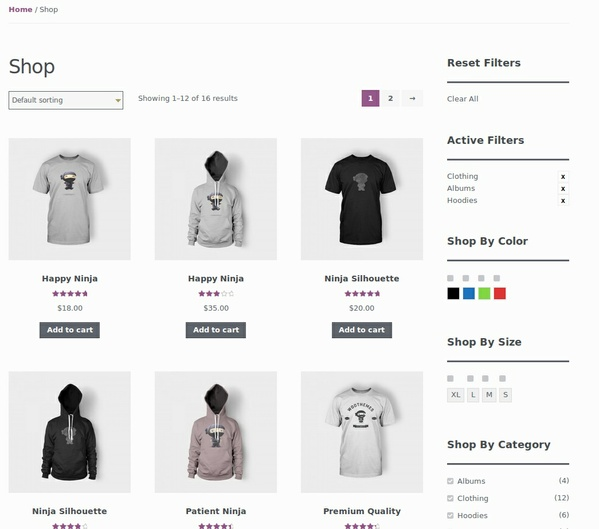 Ajax Product Filter WooCommerce by FMEAddons
