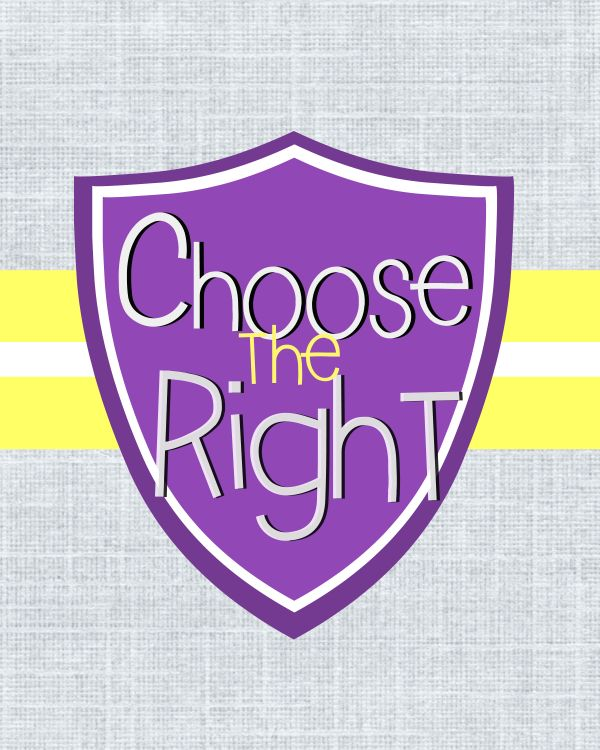 Choose the Right Printable- Digital download