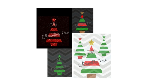 Christmas Tree SVG, Christmas Tree Line Art SVG