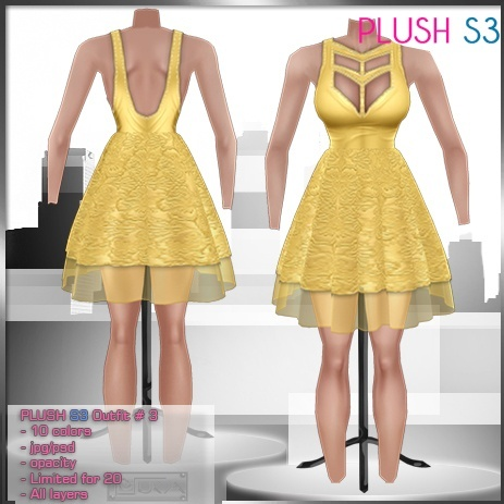 2014 Plush S3 Outfit # 3
