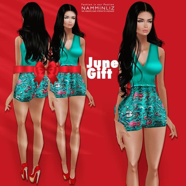 Happy June ♥ Free Gift