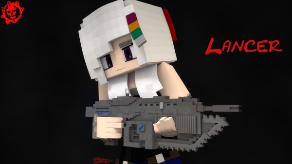 GOW Lancer cinema 4D By Core Fall