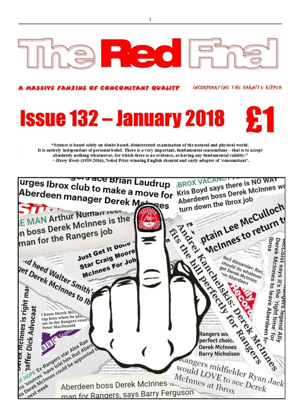 The Red Final, Issue 132