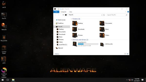Alien Isolation Orange IconPack