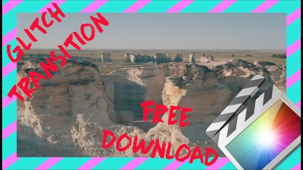 Bad TV & FILM GLITCH TRANSITIONS | Final Cut Pro X DOWNLOAD