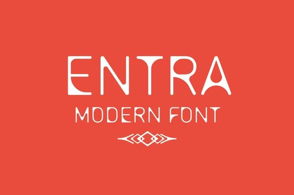 Entra Modern Font