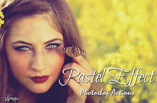 40 Pastel Effect Photoshop Actions