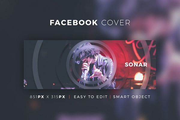 Creative Facebook Cover V10