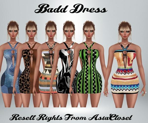 Badd Dress Catty Only!!!