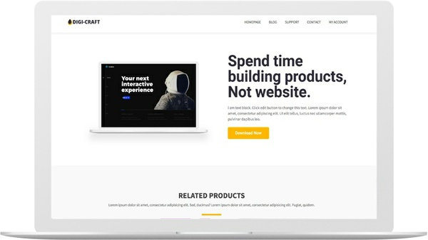 DigiCraft WordPress Marketplace Theme