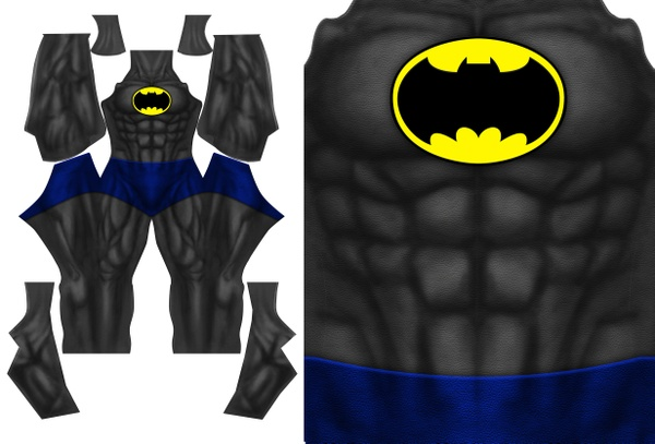 BATMAN DARK KNIGHT RETURNS (version 2) pattern file