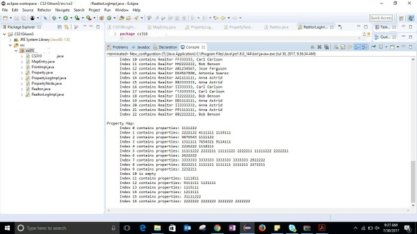 CS310 Data Structures Programming Assignment 5: Hashing with Sets and Maps Solution