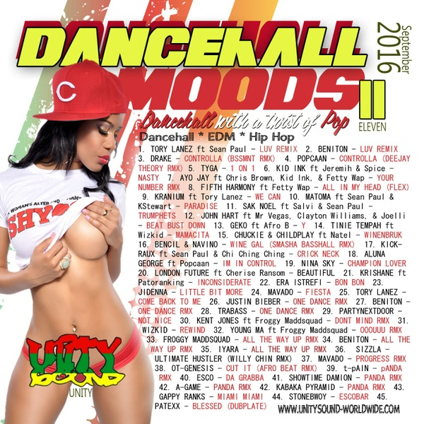 [Single-Track Mp3 Download] Unity Sound - Dancehall Mood 11 - Twist of Pop Mix - Sept 2016