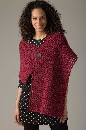 Beginner Crochet Ruana