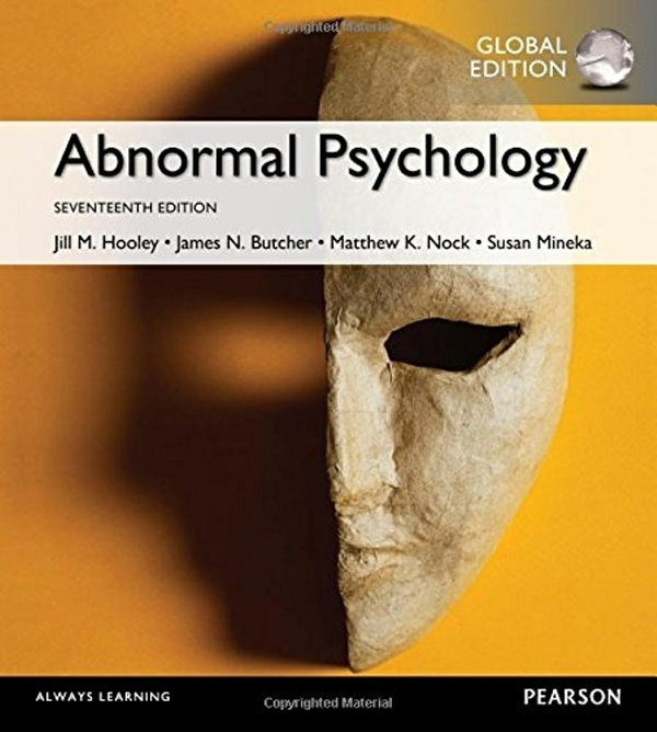 Abnormal Psychology, 17th edition ( Global Edition )  ( PDF, Instant download )