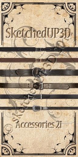 Accessories 21 - Belt Textures