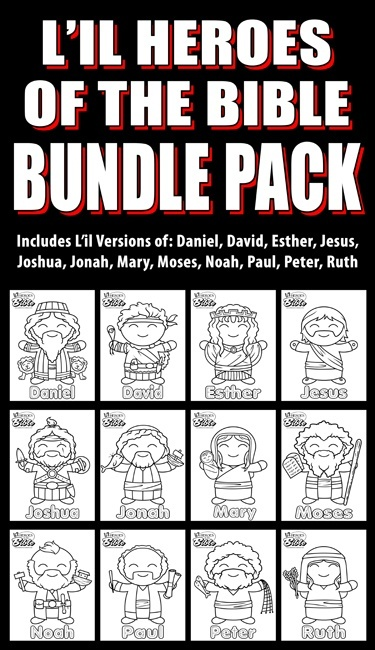 L'il Heroes of the Bible: Bundle Pack 1