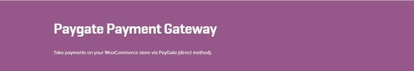 WooCommerce Paygate Payment Gateway 1.3.1 Extension