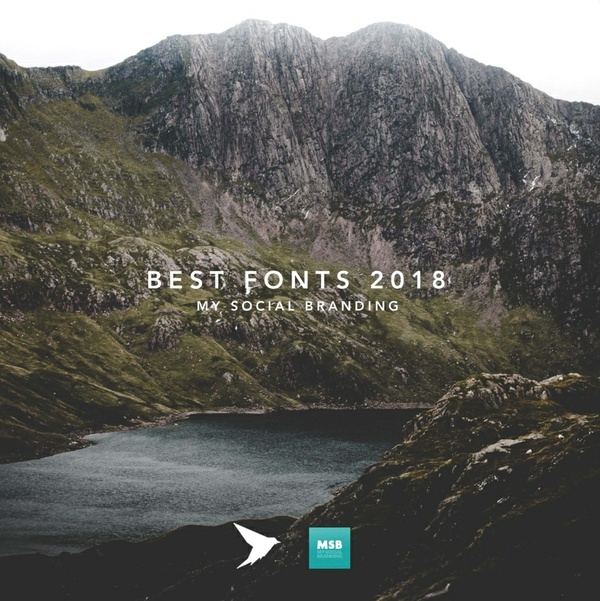 10 best fonts for 2018