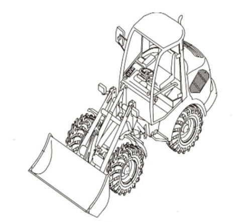 Takeuchi TW60 Wheel Loader Parts Manual (Serial No. E106776~)
