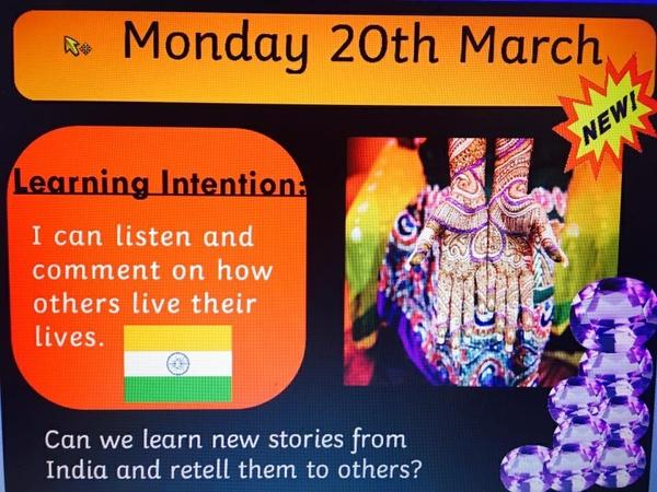 INDIA ARTS WEEK ACTIVPRIMARY SLIDES
