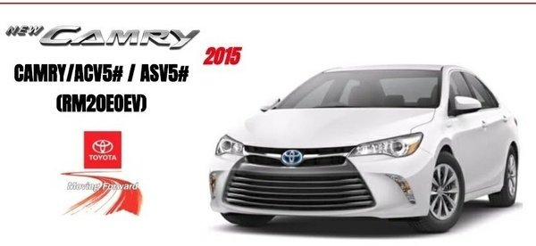 TOYOTA CAMRY 2015 ASV5 / ACV5  FACTORY WORKSHOP MANUAL